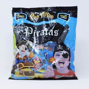 Chupetin Pop Tattoo PIRATAS whit Tongue Tatto – Tutty Frutti – 8gr unid